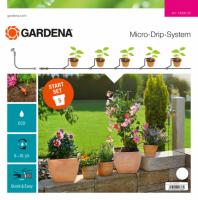 Gardena Micro-Drip Start Set S Pflanztöpfe