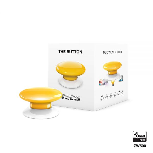 FIBARO The Button gelb