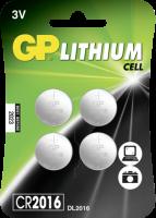 1x4 GP CR2016 Lithium