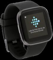 Fitbit Versa 2 schwarz/carbon