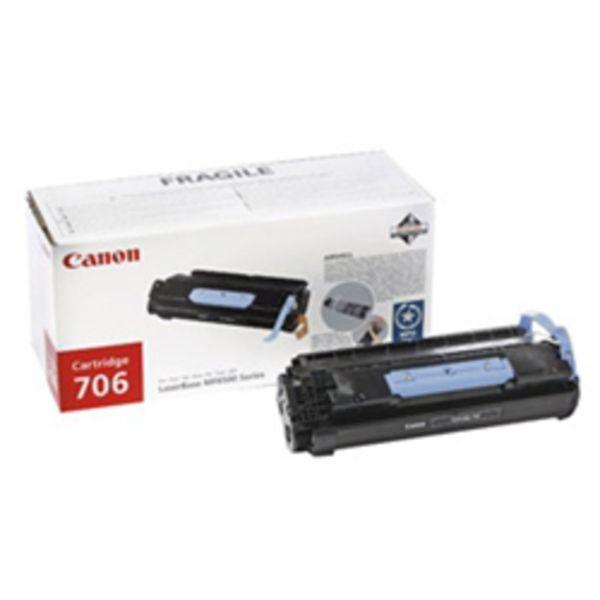 Canon Toner 706 schwarz (ca. 5000 Seiten)