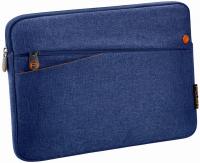 PEDEA Tablettasche bis 32,8 cm -12,9''- mit Zubehörfach, blau